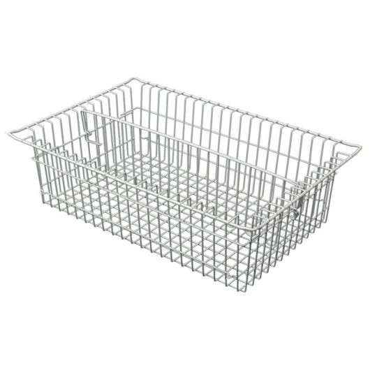 81071-1 5 Inch Wire Basket with Long Divider