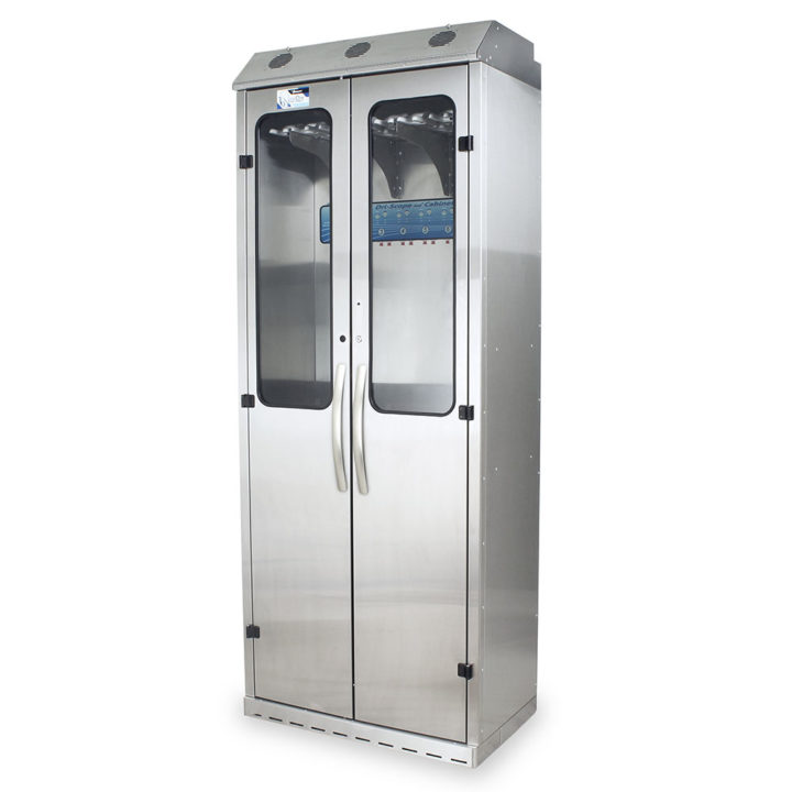 SCSS8036DRDP-DSS3316 Endoscope Drying Cabinet with Dri-Scope Aid - Quarter Left Closed