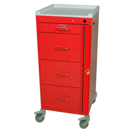 Four Drawer with Breakaway Lock