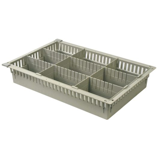 81031-8 - ABS Basket-Style Tray with Dividers