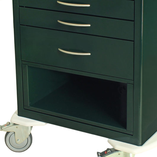 MD24-DRW9-EH Procedure Cart Equipment Holdall Forest Green