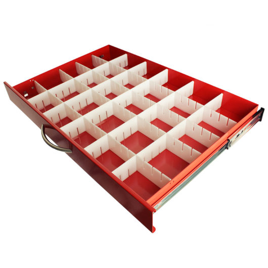 MD30-DIV3-S Medication Cart Plastic Dividers