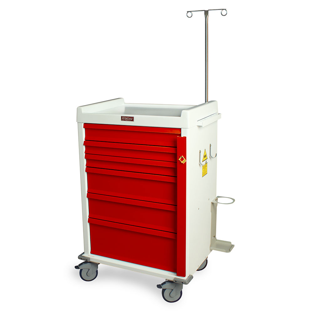 MR6B-EMG MRI Crash Cart left
