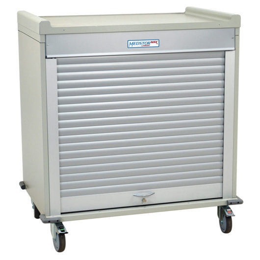 MS4140 Half Height Mobile Medical Storage Cabinet