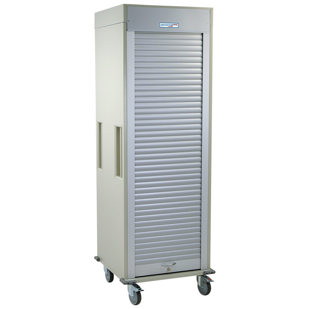 MS8128 - Single Column Medical Storage Cart