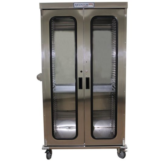 MSSS8140DR - Stainless Steel Medical Storage Cart