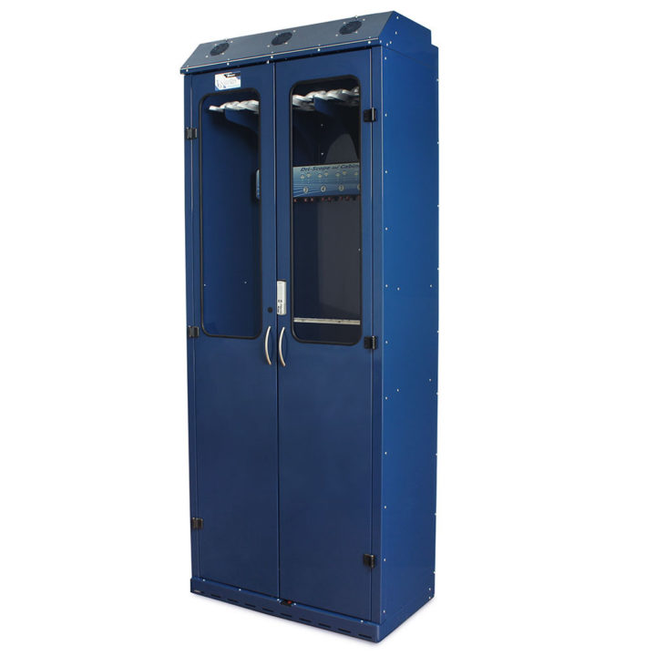 SC8036DREDP-DSS3316 Endoscopy Scope Drying Cabinets with Dri-Scope Aid - Navy Quarter Left