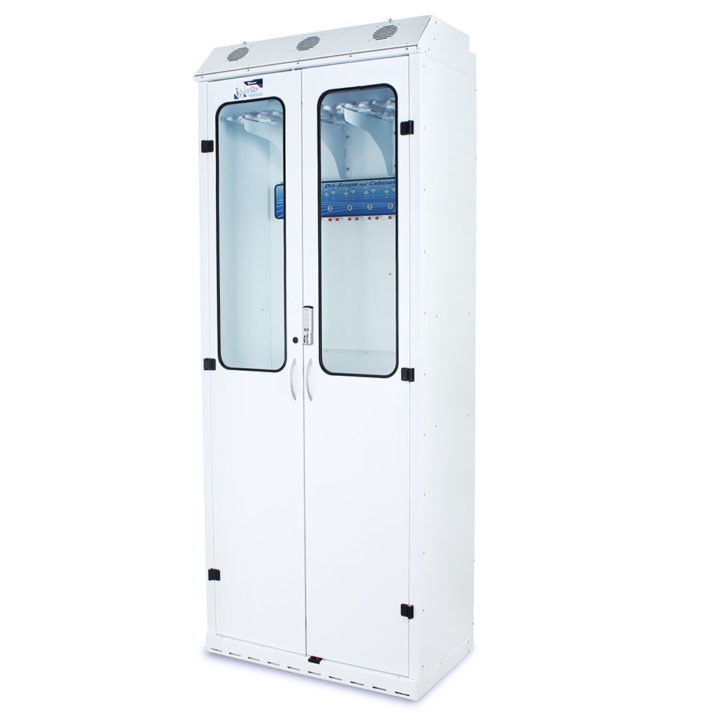 SC8036DREDP-DSS3316 Endoscopy Scope Drying Cabinets with Dri-Scope Aid - Quarter Left White