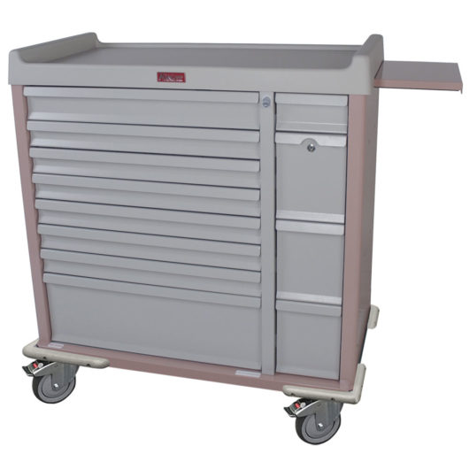 SL294BOX Unit Dose Medication Box Cart