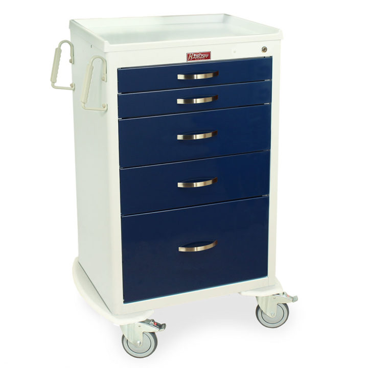 MDS2430K15 M-Series Anesthesia Cart - Quarter Right