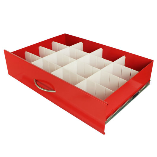 MD30-DIV6-S Med Cart Drawer Dividers