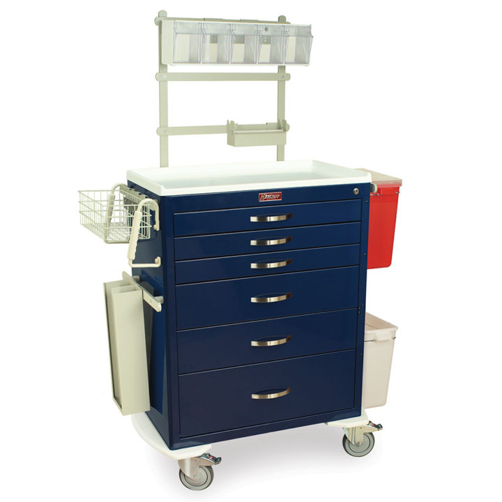 MDS3030E06-ANS3 Cart for Anesthesiology - Quarter Right Front
