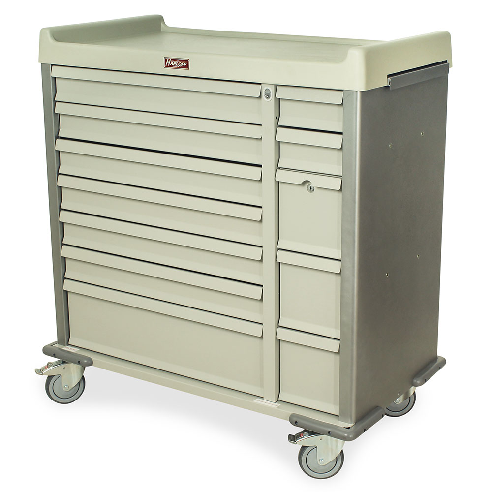 SL72MD Multi-Dose Bin Medication Cart